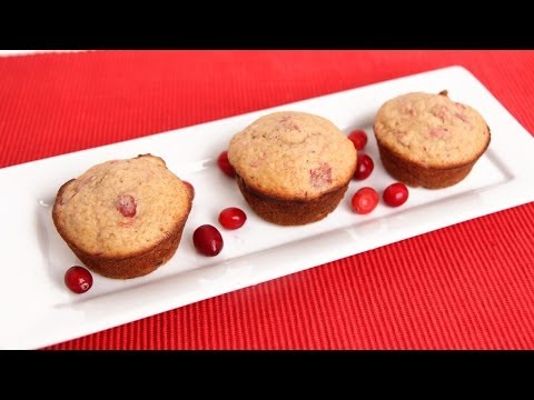 Cranberry Sauce Muffins Recipe - Laura Vitale - Laura in the Kitchen Episode 680