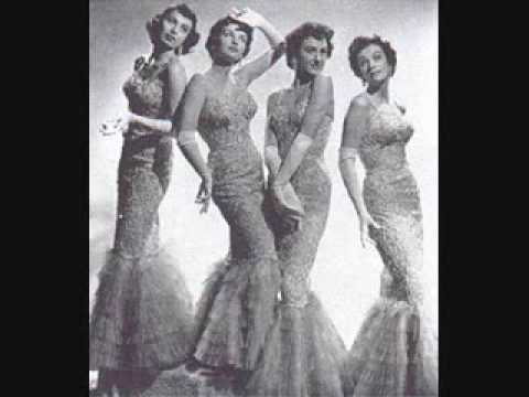 The Chordettes - They Say It's Wonderful (1954)