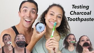 WEBISODE 7: TRYING CHARCOAL TOOTHPASTE (BLK DIAMOND)