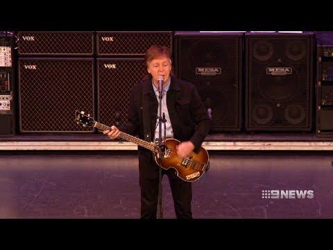 Paul McCartney | 9 News Perth