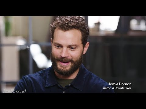 Jamie Dornan & Rosamund Pike: Hollywood Reporter  for A Private War TIFF
