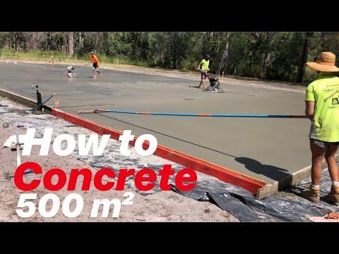 How To Pour Concrete