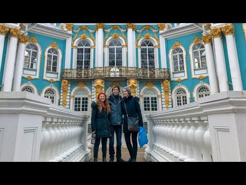 Stanford students perform Turgenev in St. Petersburg, Russia