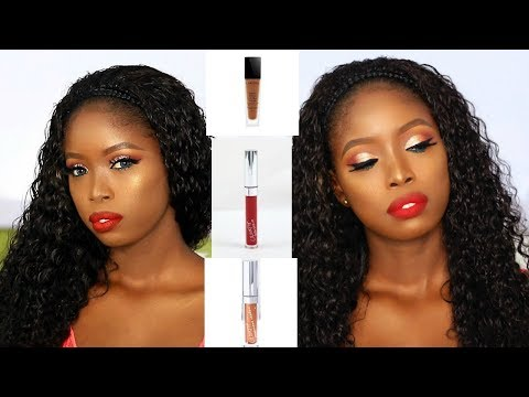 HOLIDAY GLAM TUTORIAL 2017/TRYING NEW PRODUCTS