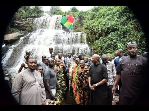 Kintampo Waterfalls reopened after eight months of closure