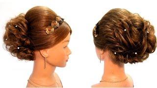 Прически на выпускной на длинные волосы💚Свадебная и вечерняя прическа💚Prom hairstyles