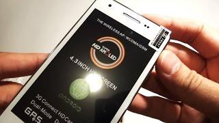 Китайский смартфон на Андроиде Star F9006, распаковка