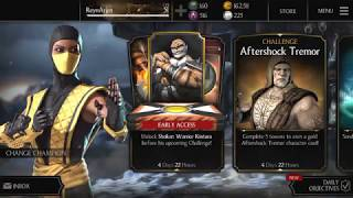Mkx mobile quest mode glitch