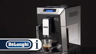 How to make flat white with your De'Longhi PrimaDonna XS ETAM 36.365 coffee machine