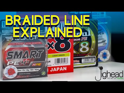 JIGHEAD TV: How To Choose Braided Line - Secrets Of Fishing Line Explained