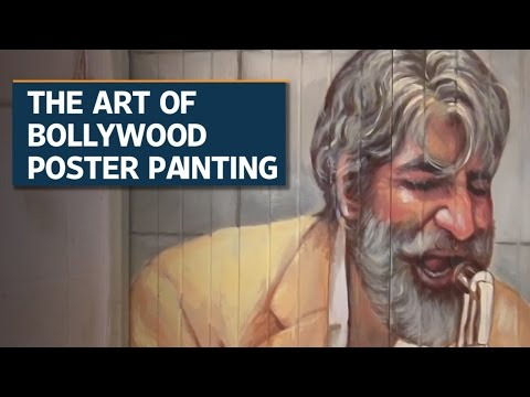 The art of Bollywood poster painting
