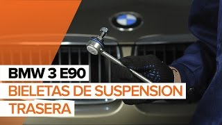 Desmontar Bieleta de barra estabilizadora BMW - vídeo tutorial