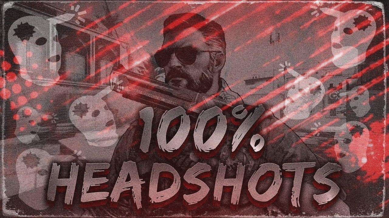 100% HEADSHOTS ЗА ИГРУ