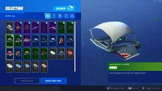 FORTNITE SEASON 1 MAKO GLIDER Account FOR SALE
