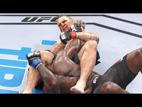 Israel Adesanya vs. Dustin Poirier FULL FIGHT - EA Sports UFC 4