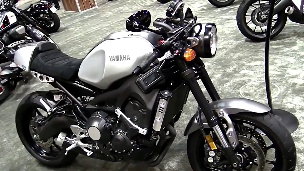 2017 yamaha xsr 900 limited stock walkaround review look. Black Bedroom Furniture Sets. Home Design Ideas