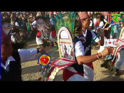 famous dance group of Rukum Nepal मयुर साँस्कृतिक युवा कलब रुंघा  by Ramailo Rapti  5 puni mela