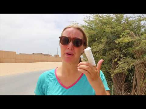 Drone crash- not cycling in Mauritania, follow our bike tour around the world!