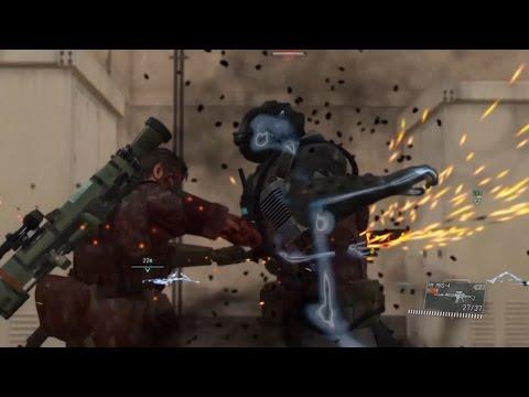Metal Gear Solid 5, Metallic Archaeas (Skulls), Boss fight with epic CQC