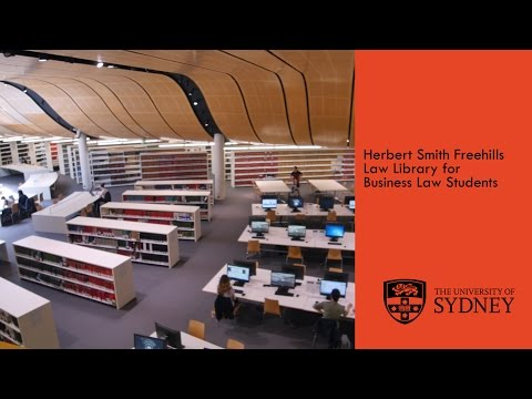 University of Sydney - Law Library tour for Business students
