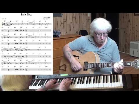 Satin Doll- Jazz guitar & piano cover - Yvan Jacques