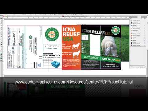 InDesign Package vs PDF Export Comparison