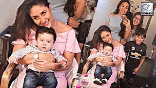 Taimur Ali Khan Surprises Mommy Kareena Kapoor Khan   LehrenTV