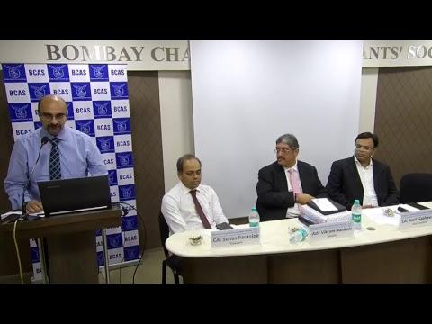 "Lecture Meeting on ""Recent Landmark Judgements under Indirect Tax"""