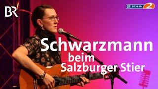 """Martina Schwarzmann: """"Und der Preis geht nach ... Überacker!"""" - Salzburger Stier - Bayern 2"""