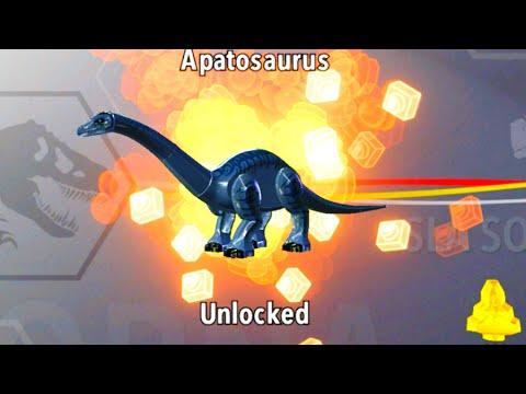 LEGO Jurassic World How to Unlock Apatosaurus, Amber Brick Location ...
