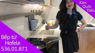 KIMQUOCTIEN.COM I Bếp từ Hafele HC-IF60A 536.01.871 + máy hút mùi Hafele HH-TG60E 539.81.073