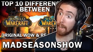 """Asmongold Reacts to """"Top 10 Differences Between WoW Classic & The Original Release"""" by MadSeasonShow"""
