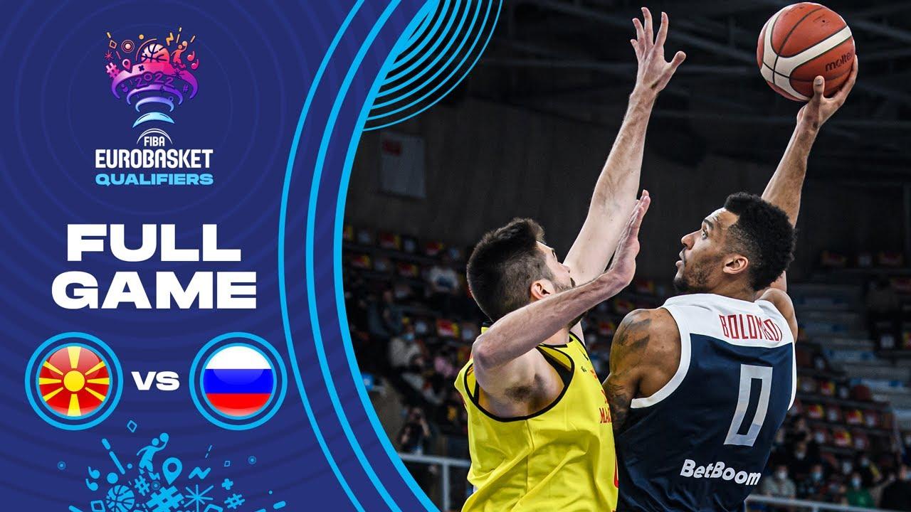 North Macedonia v Russia | Full Game