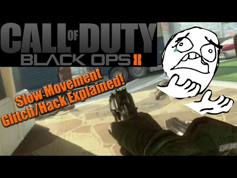 Black Ops 2 Slow Movement Glitch/Hack Explained! - CAUSES and FIXES! BO2