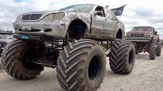 Trucks Gone Wild Tri-Truck Challenge