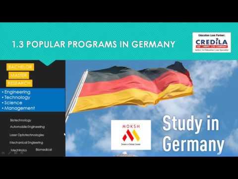Study in Germany Webinar | MOKSH