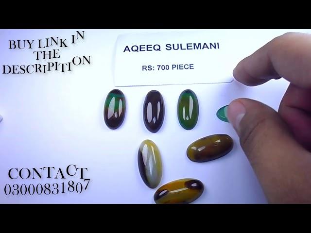sulemani aqeeq stone price