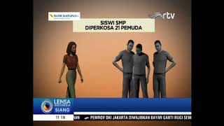 Download Video SISWI SMP DIPERKOSA 21 PEMUDA [LENSA INDONESIA SIANG 26 OKTOBER 2017] MP3 3GP MP4