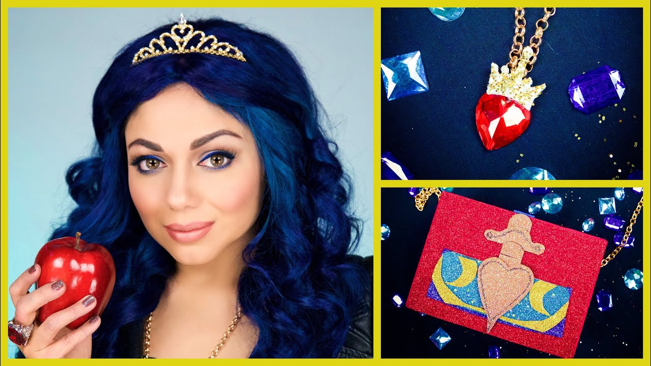 Disney descendants evie diy costume tutorial charisma star disney descendants evie diy costume tutorial charisma star youtube solutioingenieria