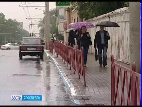 В Ярославской области вновь объявлено штормовое предупреждение
