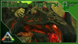 Soloing the ARK! Live - SURFACE LOOT HUNTING!