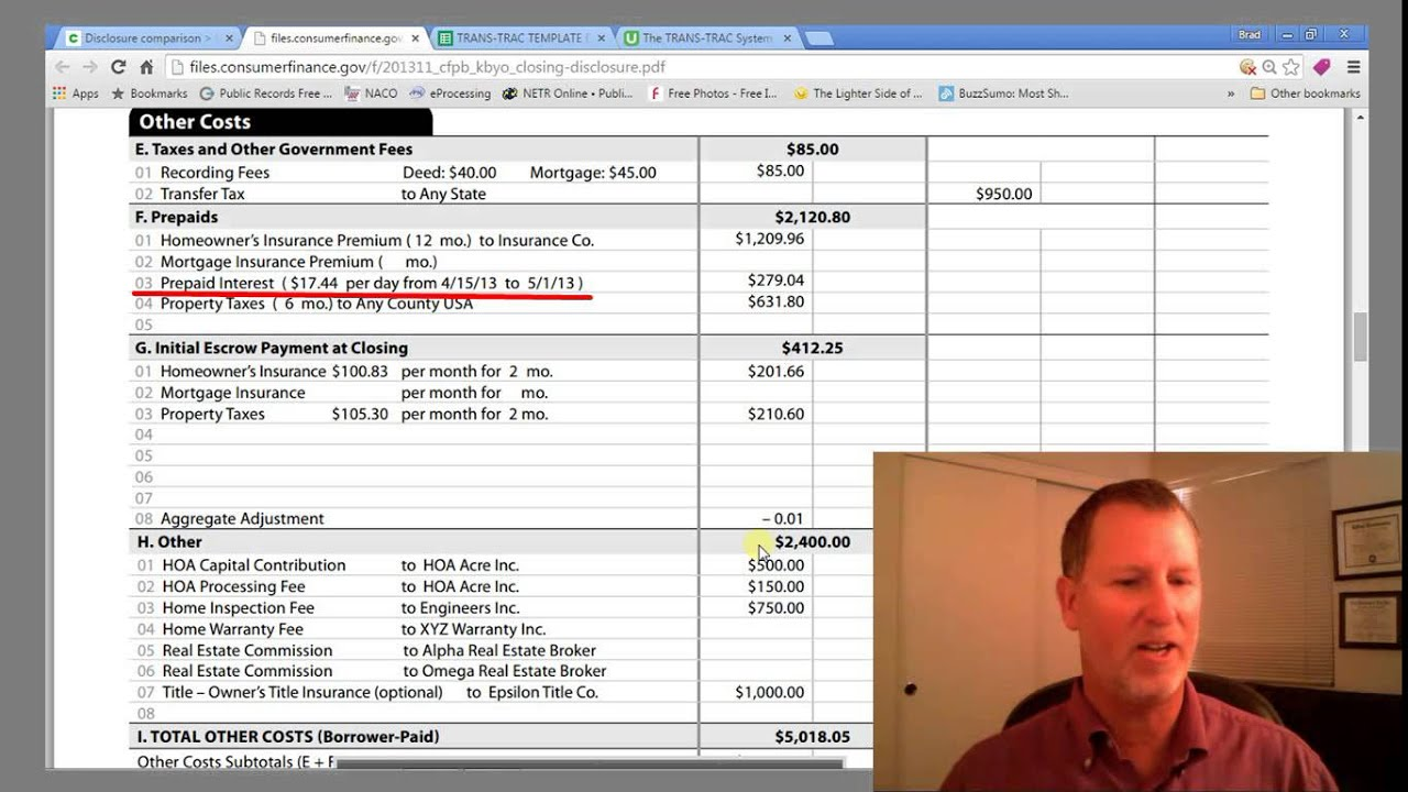 Real Estate Closing Costs Explained - YouTube