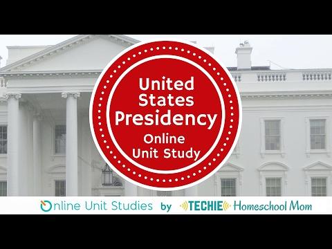 United States Presidency Online Unit Study