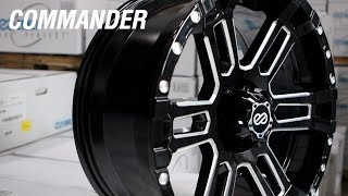 homepage tile video photo for Enkei Commander Truck and SUV Wheel