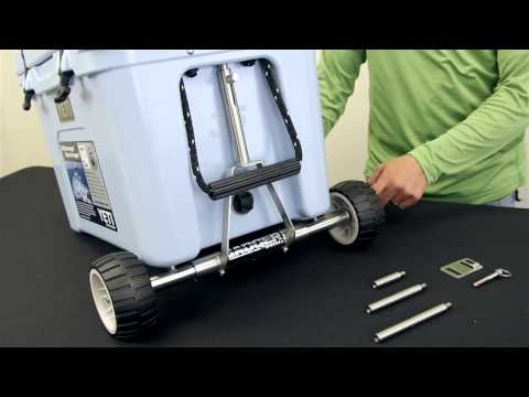 How To Make Rtic Yeti Cooler Wheels Kit System Easy Amp C