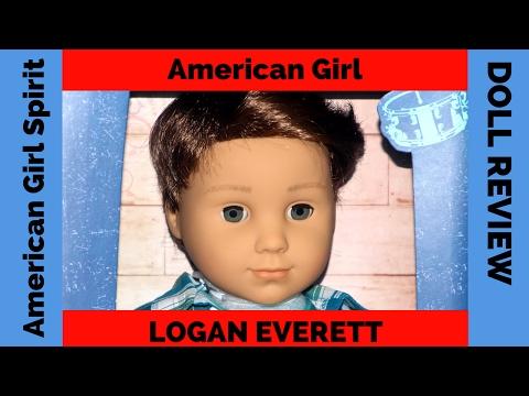 American Girl's BOY Doll Logan Everett  REVIEW
