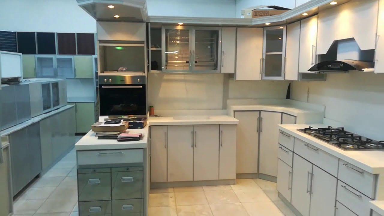 Aluminum new modern Kitchen Cabinets, 9 Jeddah Balad.   YouTube