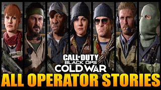 Black Ops Cold War: All Operator Secret Stories!