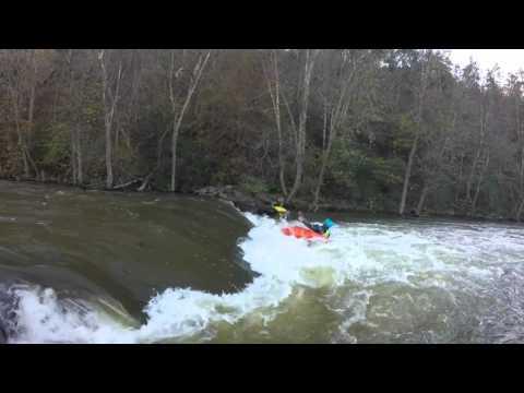 deirks new playboating tricks