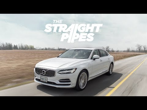 2018 Volvo S90 T8 Inscription Review - Supercharged Turbo Plug In Hybrid Luxury